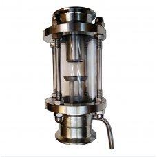 Диоптр с узлом отбора по жидкости