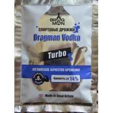 Дрожжи Спиртовые Турбо Bragman Vodka