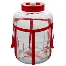 Бутыль стеклянная с гидрозатвором 25л