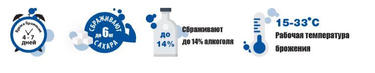 Дрожжи BragMan Водка, 66 гр. 1